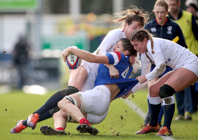Play Rugby In The UK (Womens)